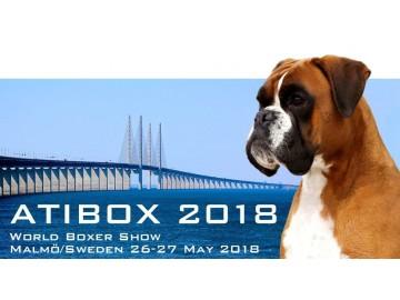 ATIBOX 2018 World Boxer Show arrangeres som de fleste vet i Malmö 26.- 27. mai