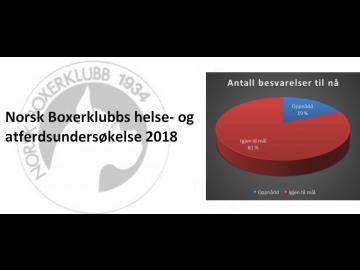 Helse- og atferdsundersøkelsen 2018 - Oppdatering pr. 12. oktober 2018