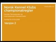 Championatregler pr. 01.01.2018 - Versjon 2