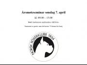 Årsmøteseminar søndag 07.04.2019