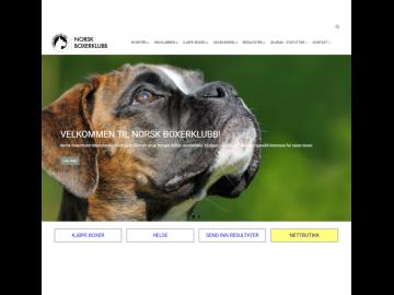 Ny nettbutikk for Norsk Boxerklubb
