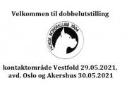 Velkommen til dobbelutstilling 29. og 30. mai 2021
