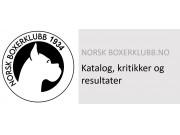 Katalog og resultater med kritikkskjema til Norsk Boxerklubbs avd Oslo/Akershus spesialutstilling søndag 30. mai 2021