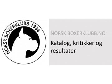 Katalog og resultater - Norsk Boxerklubb 25.07.2021